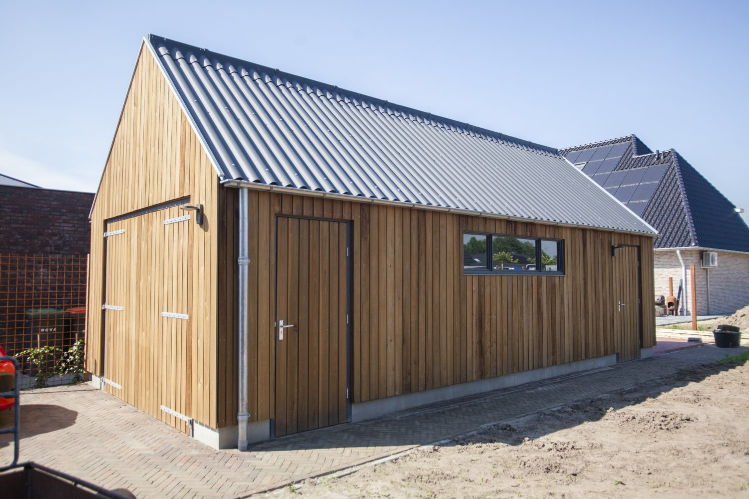 Houtbouw Garage Schuur : Garages schuren vdbent wood creations