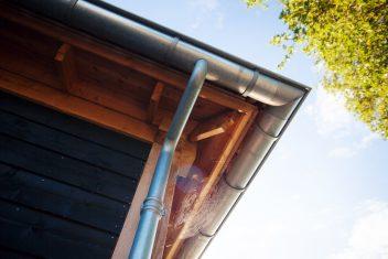zinken dakgoten als authentiek detail