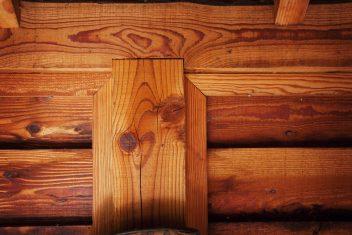 landelijke houten verbinding