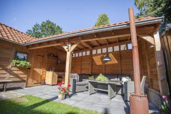 terrasoverkapping met garage